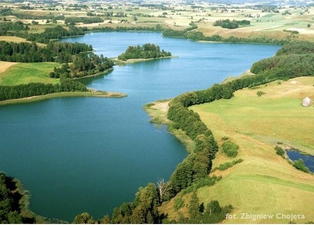 Zdjęcie lotnicze - SPK - jezioro Szurpiły - Kliknięcie spowoduje wyświetlenie powiększenia zdjęcia
