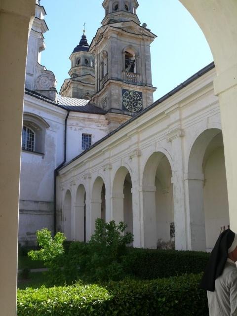 klasztor w Pożajściu - Kliknięcie spowoduje wyświetlenie powiększenia zdjęcia