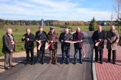 Zakończony remont drogi Kadaryszki - Pobondzie - Bondziszki