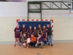 Halowy Turniej LZS w piłce nożnej dziewcząt szkół gimnazjalnych