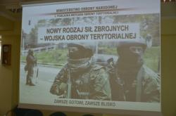 Wojska Obrony Terytorialnej - Informacja ze spotkania
