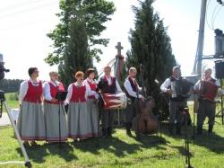 Zespół Przeroślaki podczas występu
