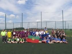 Powiatowy Turniej LZS w piłce nożnej dziewcząt Mała Piłkarska Kadra Czeka