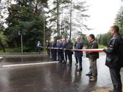 Nowa droga Płociczno - Suwałki oddana do użytku