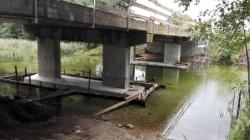 Przebudowa mostu w Czerwonym Folwarku