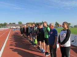 Zawody lekkoatletyczne pn. Jesienne Zawody Zrzeszenia LZS w lekkiej atletyce dla Szkół Ponadpodstawowych