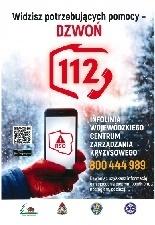 Widzisz potrzebujących pomocy - DZWOŃ 112
