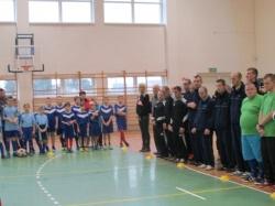 Integracyjny Halowy Turniej LZS w Piłce Nożnej o puchar Starosty Suwalskiego