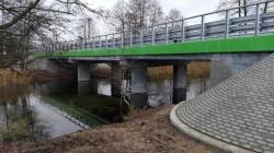 Została zakończona przebudowa mostu przez rzekę Czarna Hańcza w m. Czerwony Folwark w ciągu drogi powiatowej nr 1171B Ryżówka – Mikołajewo-Maćkowa Ruda