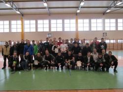 Powiatowy Halowy Turniej LZS w Piłce Nożnej Mężczyzn o puchar Starosty Suwalskiego
