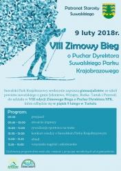 VIII Zimowy Bieg o Puchar Dyrektora Suwalskiego Parku Krajobrazowego