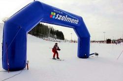 Zaproszenie na zawody o puchary w narciarstwie zjazdowym w Szelmencie