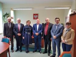 Spotkanie partnerskie z samorządem Wyłkowyszek