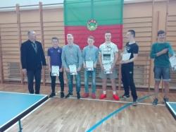 Powiatowe Zawody Zrzeszenia LZS w tenisie stołowym
