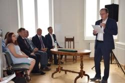 """Promocja książki autorstwa Andrzeja Matusiewicza pt. """"Dwory na Suwalszczyźnie"""""""