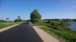Remont kolejnego odcinka drogi Wiżajny - Smolniki - Sidory