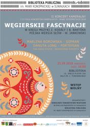 II Cykl Koncertów kameralnych - Nowe interpretacje 23.09.2018