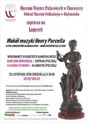 Zaproszenie na III Koncert Kameralny
