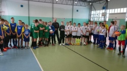 Turniej o puchar Starosty w piłce nożnej chłopców w Wiżajnach