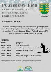 Zaproszenie na IX Zimowy Bieg o Puchar Dyrektora SPK pod Patronatem Starosty Suwalskiego