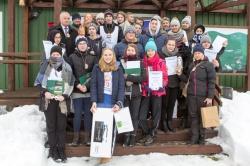Informacja z  IX edycji Zimowego Biegu o Puchar Dyrektora SPK pod patronatem Starosty Suwalskiego