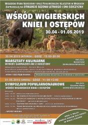 Zaproszenie na warsztaty i Sympozjum Popularnonaukowe w Wigrach 30.04 - 01.05. 2019