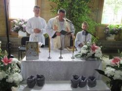 Szesnaste spotkanie przy krzyżu przydrożnym we wsi Zarzecze