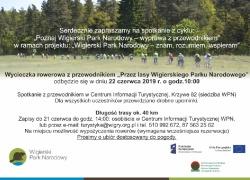 Wycieczka rowerowa z przewodnikiem- Wigerski Park Narodowy