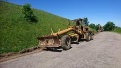 Inwestycje Powiatowe - prace na drogach nr 1098B i 1027B oraz budowa mostu w m. Kurianki Drugie
