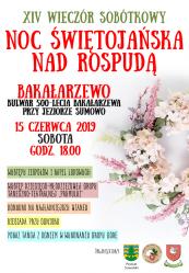 Zaproszenie na Noc Świętojańską nad Rospudą-15.06.2019