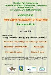 Zaproszenie na noc Świętojańską w Turtulu