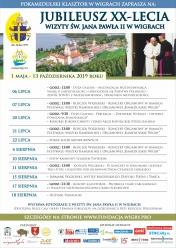 Jubileusz XX-lecia wizyty św. Jana Pawła II w Wigrach