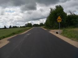 Droga Przerośl – Zusenko – Jemieliste oddana do użytku