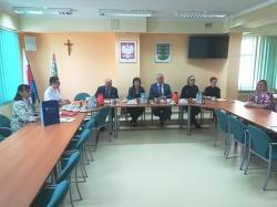 Delegacja Samorządu Rejonu Preny z wizytą w Powiecie Suwalskim