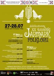 XX Jarmark Folkloru- 27-28.07.2019