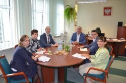 Informacja ze spotkania z delegacją Administracji Rejonu Wyłkowyszki na Litwie