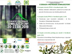 I Ogólnopolska Konferencja Naukowa- o ziołach i przyrodzie suwalszczyzny