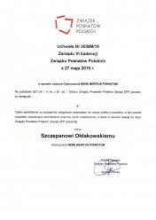 uchwała Związku Powiatów Polskich