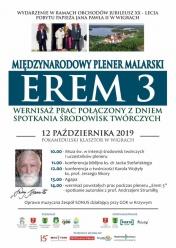 """Zaproszenie na Międzynarodowy Plener Malarski """"Erem 3"""""""
