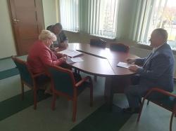 Termomodernizacja obiektów w Lipniaku - podpisanie umowy.