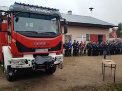 Nowe samochody ratowniczo-gaśnicze w OSP Płociczno-Tartak i OSP Rutka –Tartak