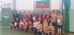 Informacja z Powiatowego Halowego Turnieju LZS w piłce nożnej