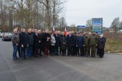 Informacja z otwarcia wyremontowanych dróg powiatowych: Płociczno-Dubowo-Poddubówek, Krzywe-Sobolewo-Płociczno-Gawrych Ruda-Słupie, Suwałki-Sobolewo