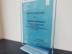 Nadleśnictwo Suwałki wyróżnione za utrwalanie dziedzictwa kulturowego w Sudawskich.