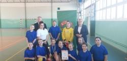 Komunikat z Powiatowego Halowego Turnieju LZS w Piłce Nożnej Dziewcząt