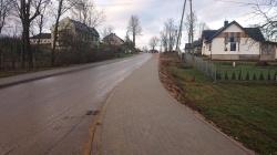 Nowy chodnik w Smolnikach