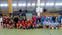 Powiatowy Halowy Turniej LZS w Piłce Nożnej Mężczyzn o puchar Starosty Suwalskiego w Raczkach