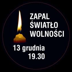 Ofiarom stanu wojennego - Zapal Światło Wolności