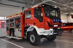 Przekazanie samochodu ratowniczo gaśniczego do JRG w Suwałkach