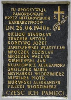 80. rocznica rozstrzelania członków Tymczasowej Rady Ziemi Suwalskiej